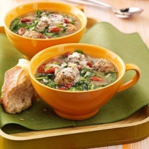Easy Italian Wedding Soup