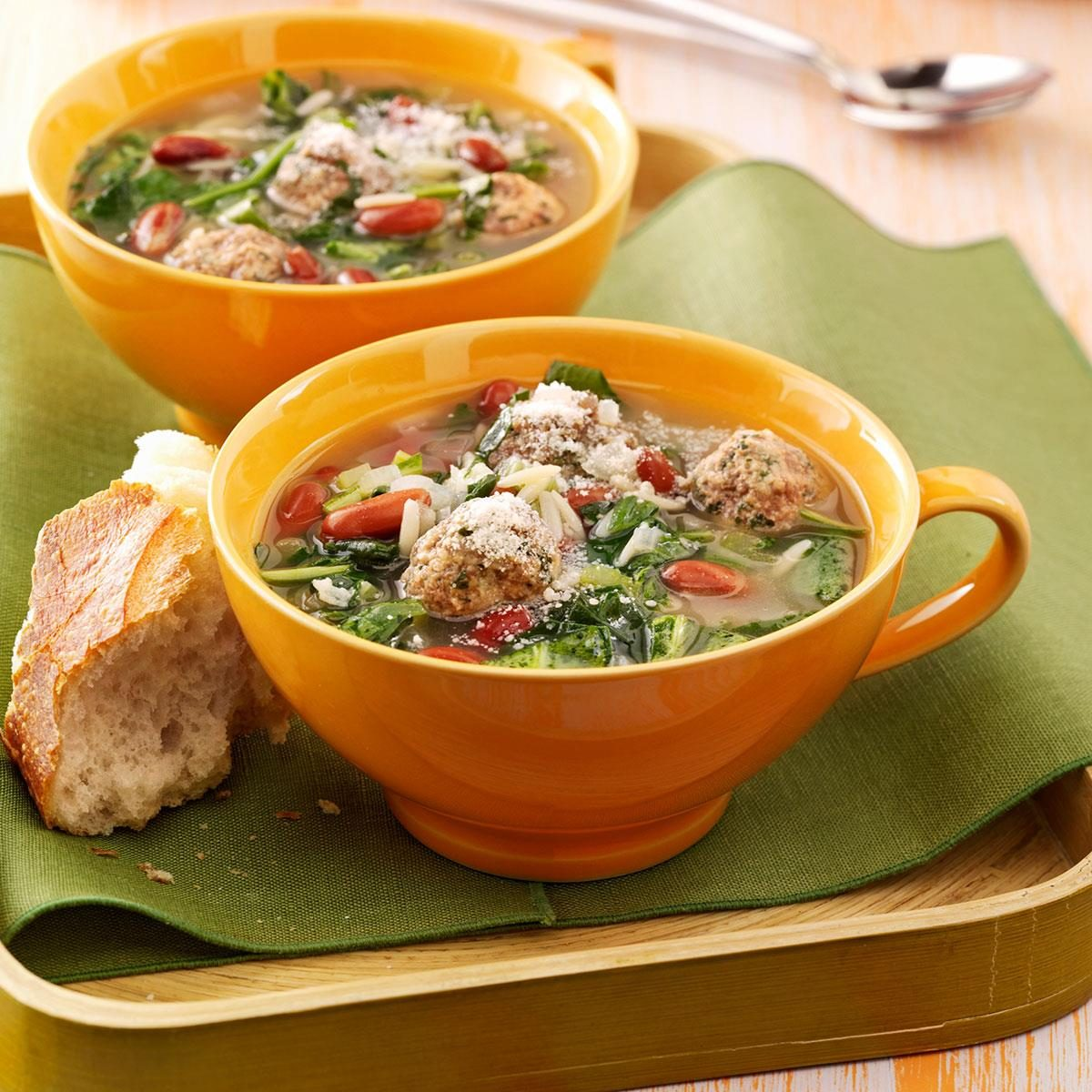 Easy italian wedding soup recipe taste of home forumfinder Image collections