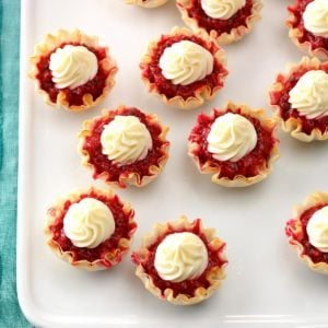 Easy Lemon Berry Tartlets