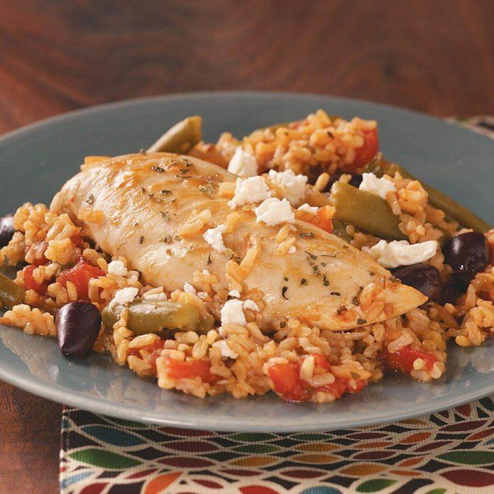 Easy Mediterranean Chicken