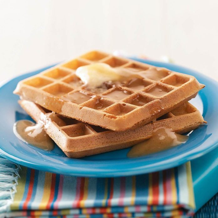 Easy Morning Waffles