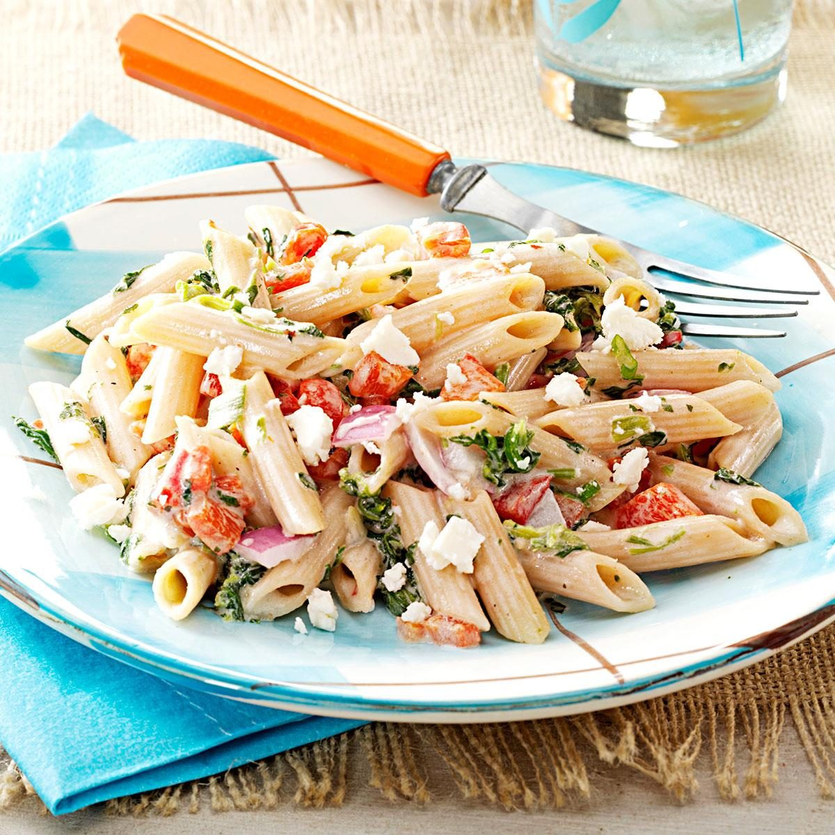 easy pasta salad for a crowd recipe taste of home