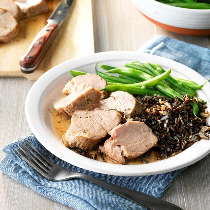 Easy Slow-Cooked Pork Tenderloin