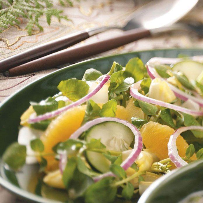 Endive Watercress Salad