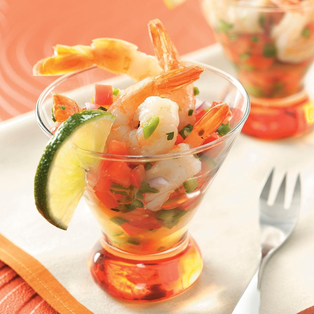 Easy Appetizers For Christmas Cocktail Party: Ensenada Shrimp Cocktail Recipe