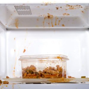 The Easiest Way to Clean Your Messy Microwave