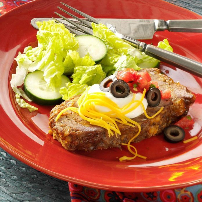 Family Favorite Taco Meat Loaf