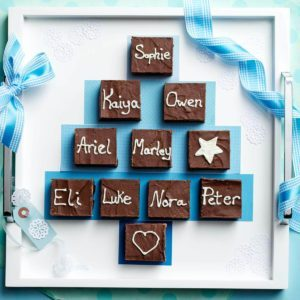 Family Tree Fudgy Brownies