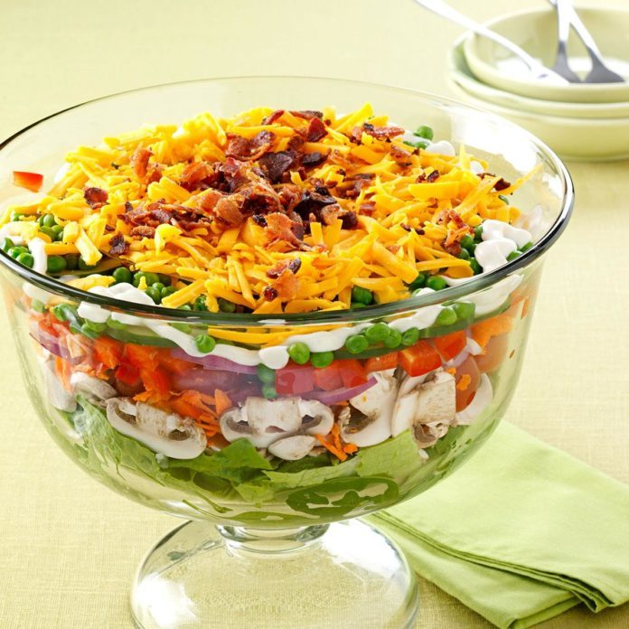 Favorite Layered Salad