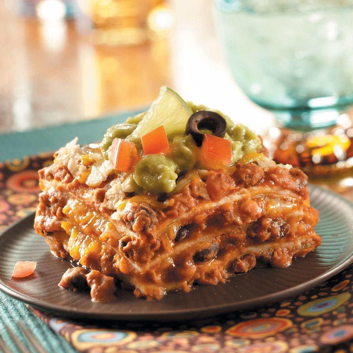 Favorite Mexican Lasagna Recipe Taste Of Home