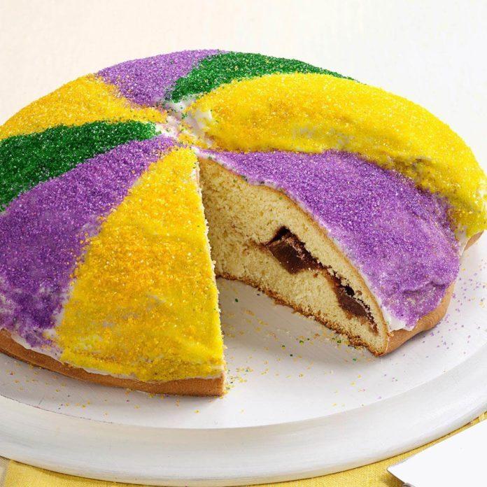 Festive King's Cake