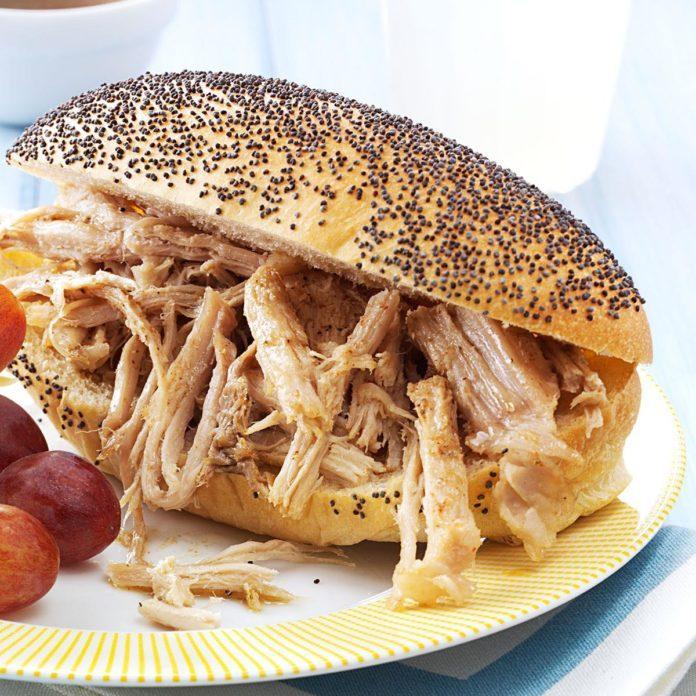 Fiesta Pork Sandwiches