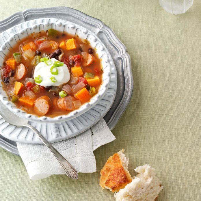 Delaware: Fiesta Sweet Potato Soup