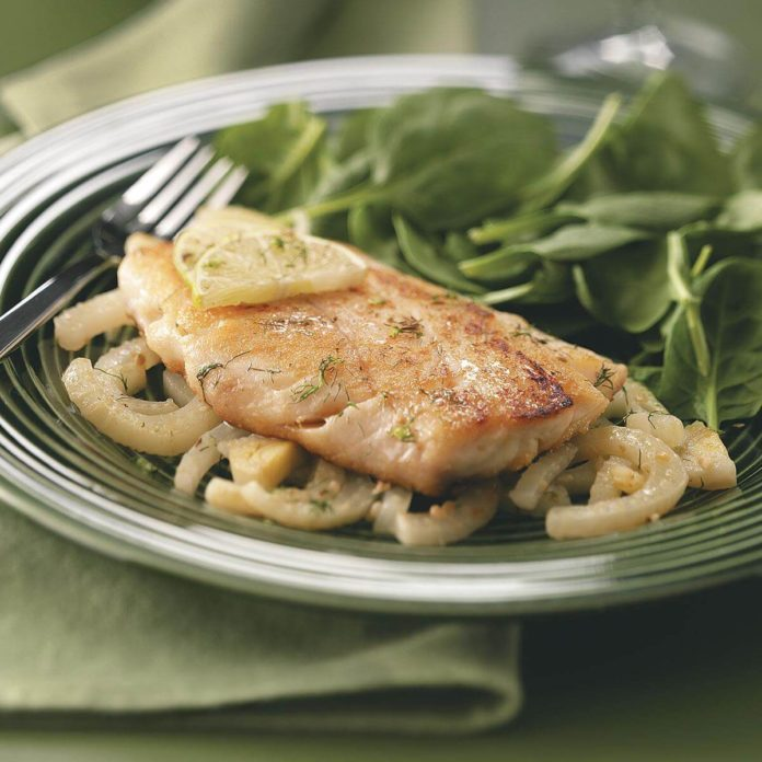 Fish with Fennel