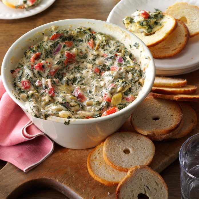 Inspired By: Olive Garden's Spinach-Artichoke Dip