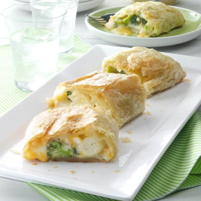 Floret Cheese Strudel