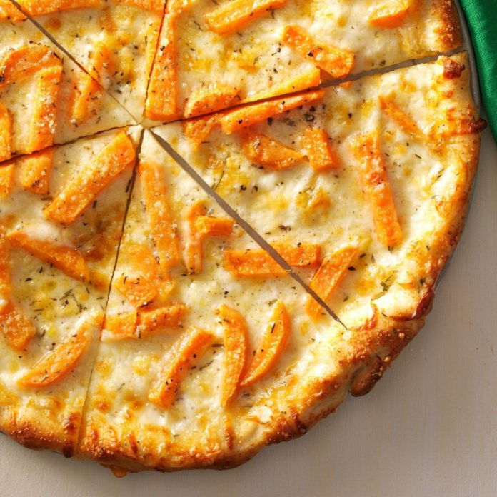 Fontina & Sweet Potato Pizza
