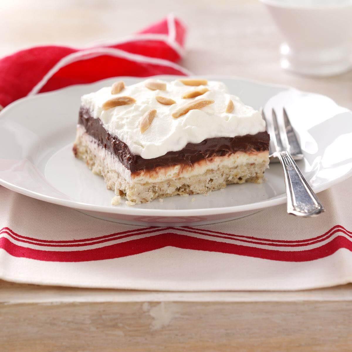 Four-Layer Chocolate Dessert Recipe | Taste of Home