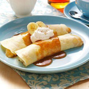 French Banana Pancakes