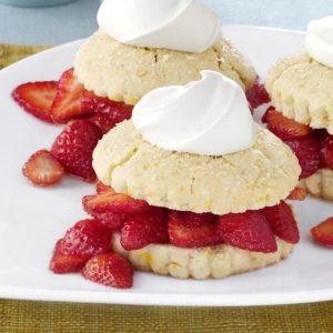 Fresh Berry Shortcakes