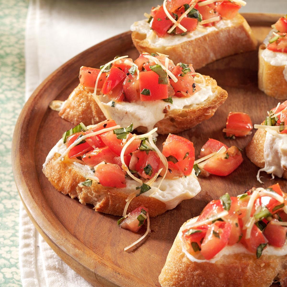 simple appetizers | taste of home