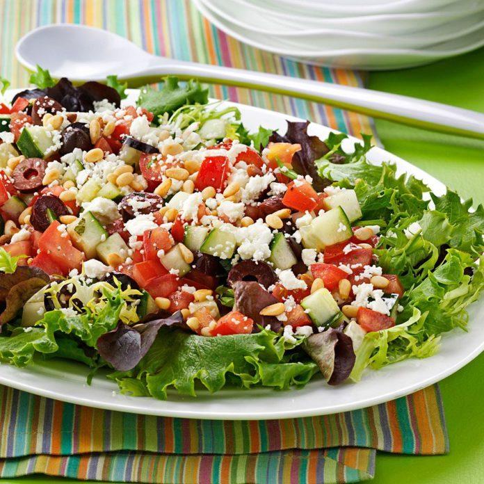 Fresh Tomato & Cucumber Salad