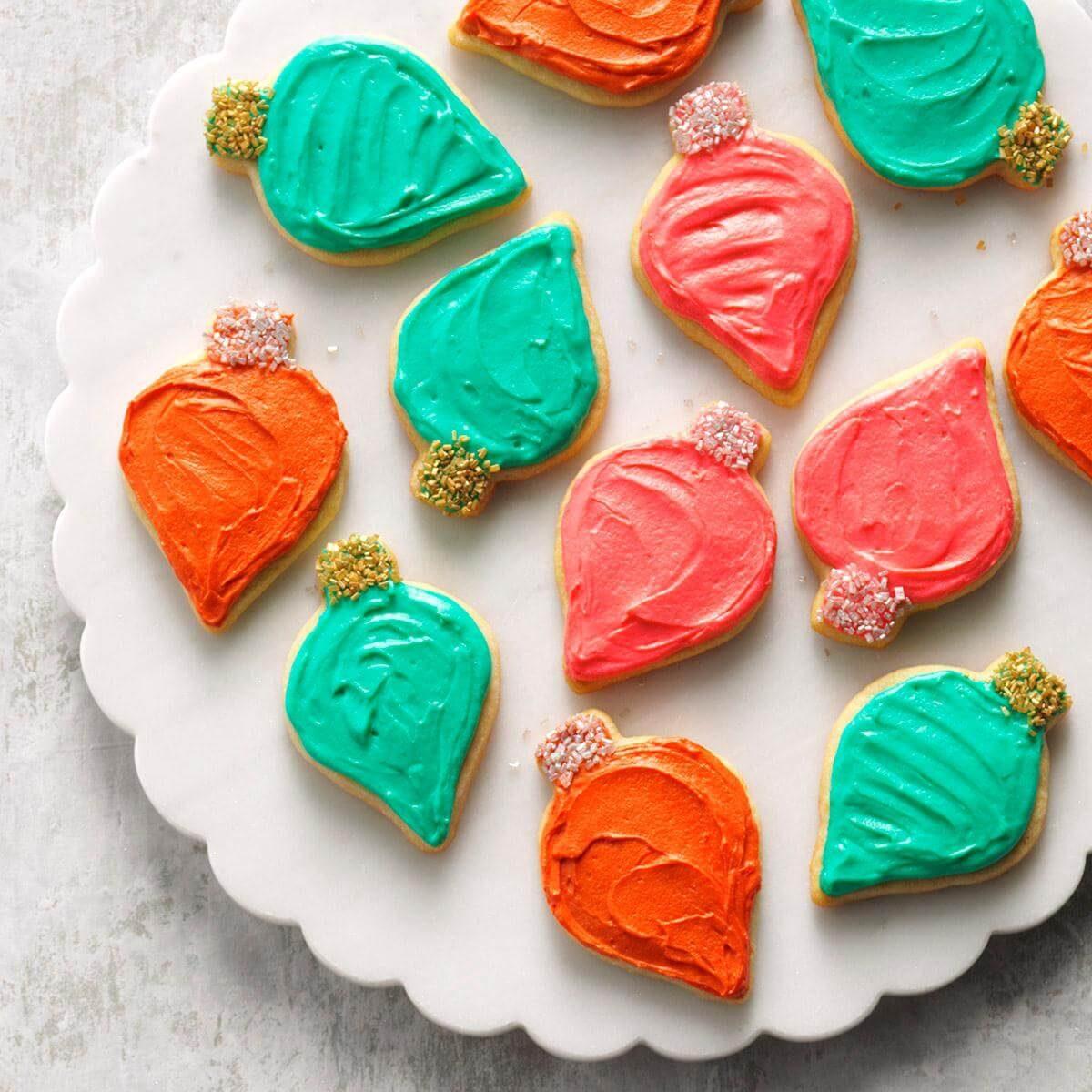 Cut Out Sugar Cookie Recipe: Frosted Cutout Sugar Cookies Recipe