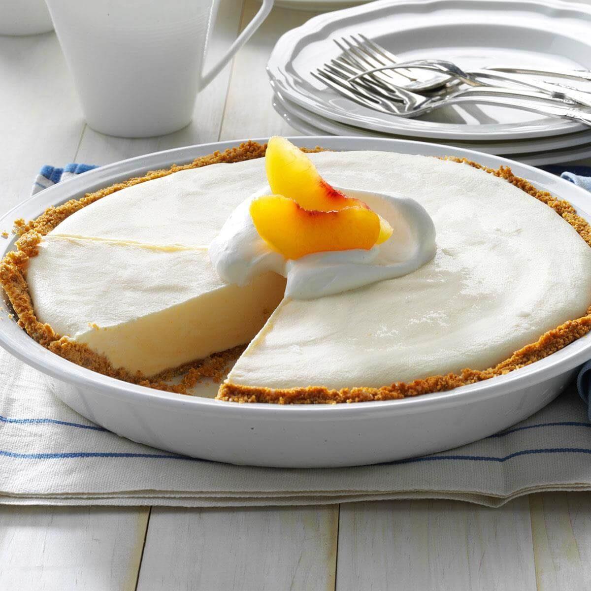 Frozen Peach Pies Recipe