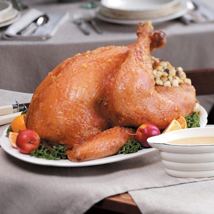 Fruit-Glazed Turkey