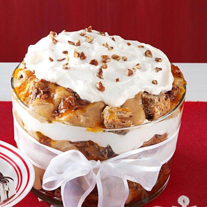 Fruitcake Trifle