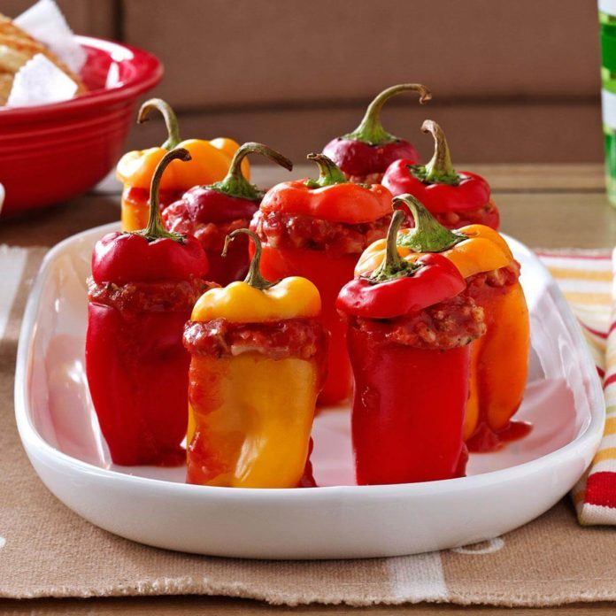 Game Day Miniature Peppers