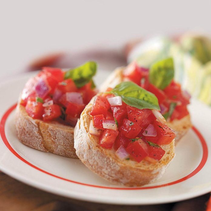 Garden-Fresh Bruschetta