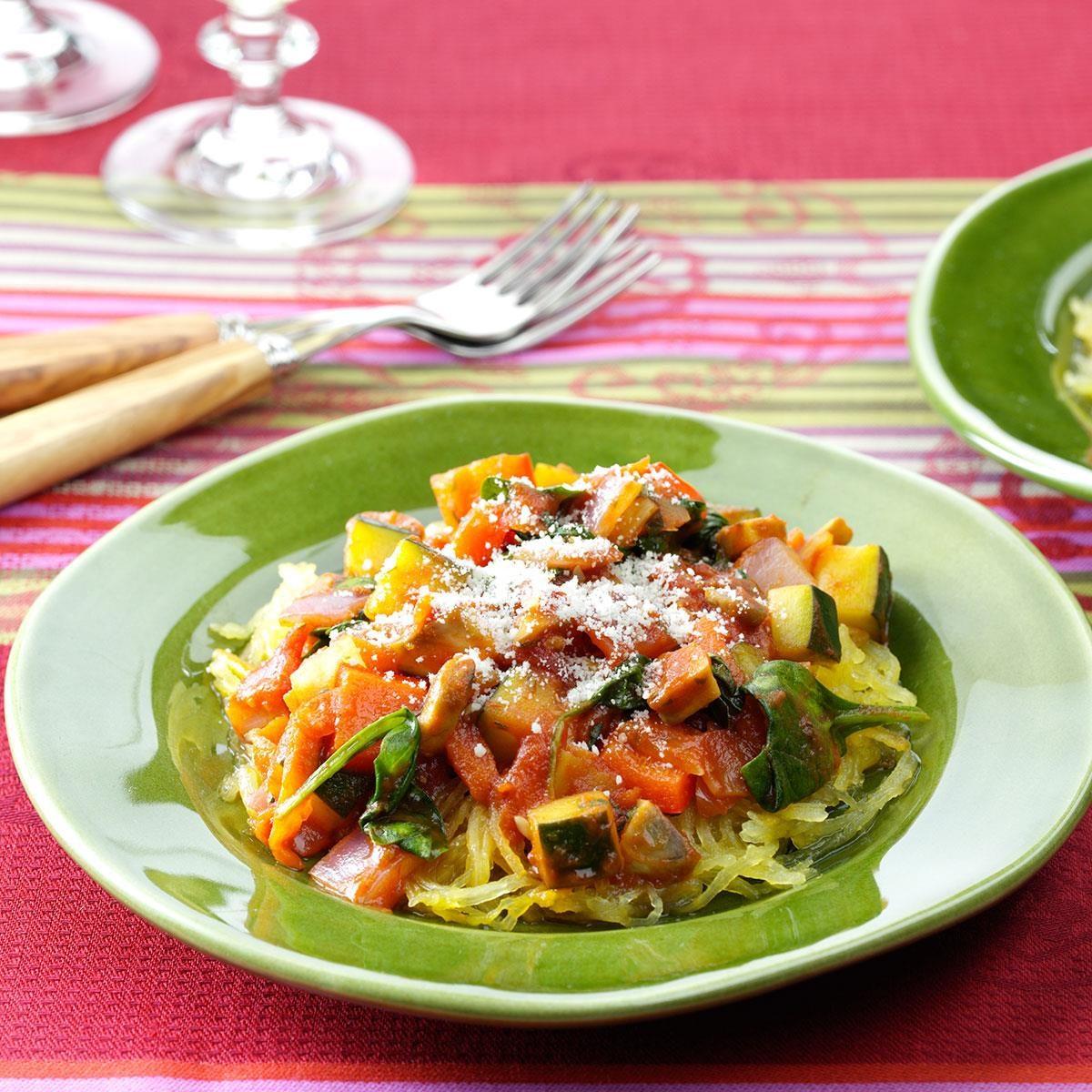Garden Harvest Spaghetti Squash Recipe