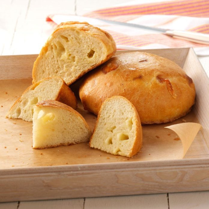 Garlic Asiago Bread