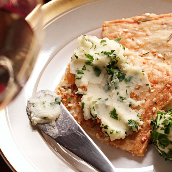 Garlic-Herb Mini Flatbreads