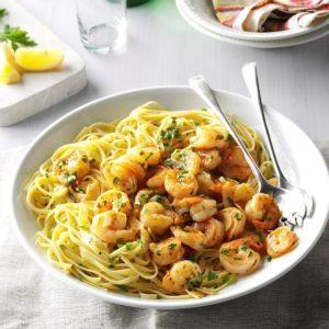 how to make shrimp fajitas at home