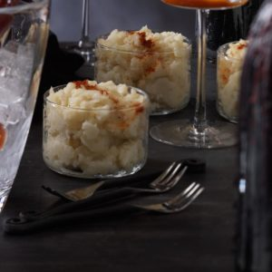Garlic and Shallot Mashed Potatoes