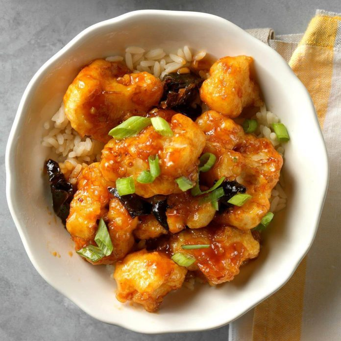 Day 31: General Tso's Cauliflower