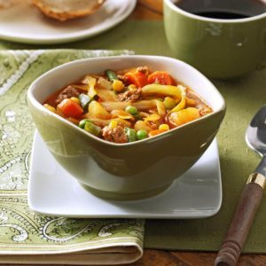 German Vegetable Soup