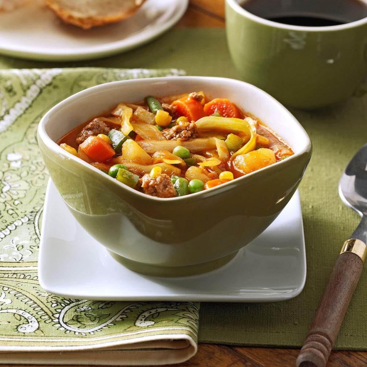 German Vegetable Soup Recipe