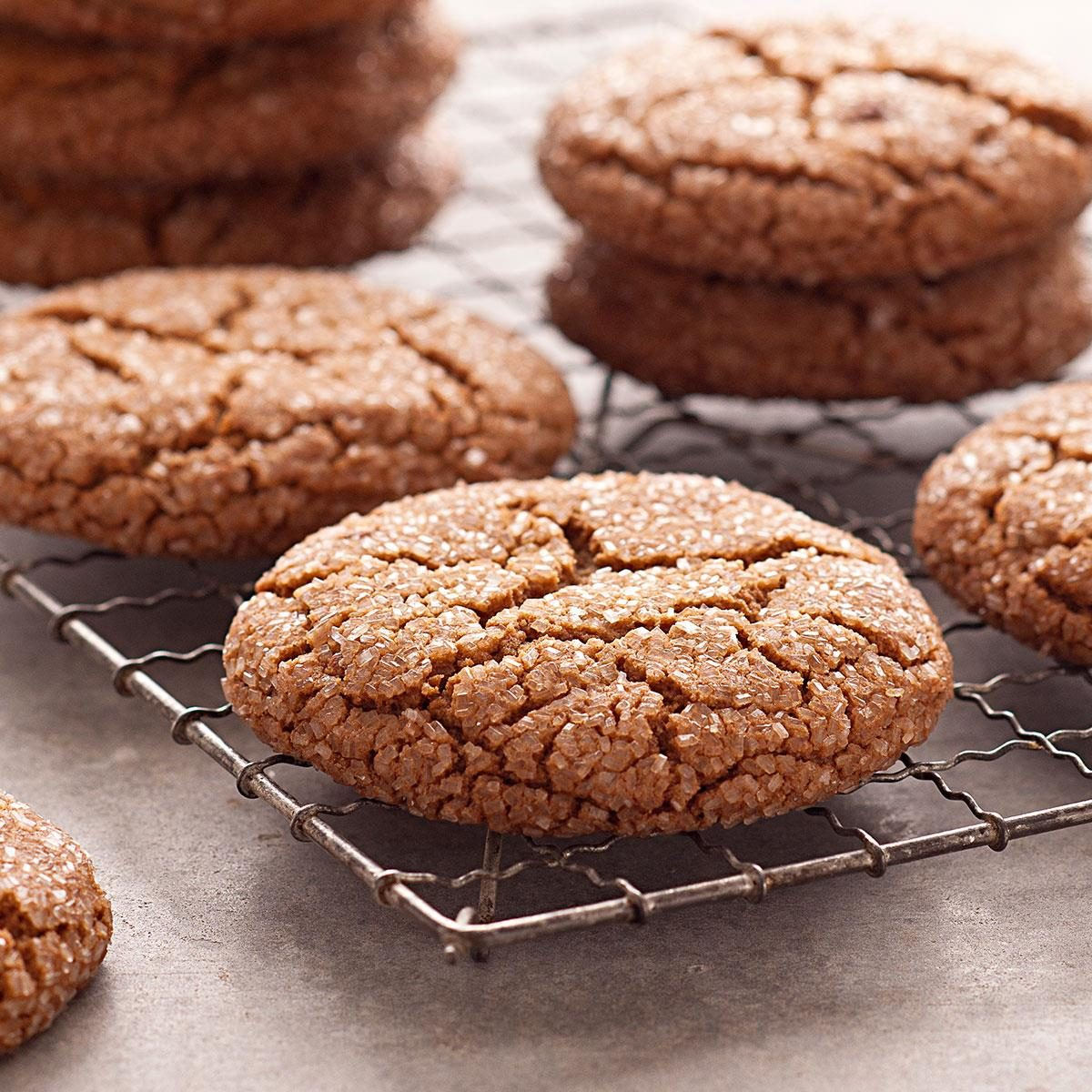 Giant Molasses Cookies Recipe Taste Of Home