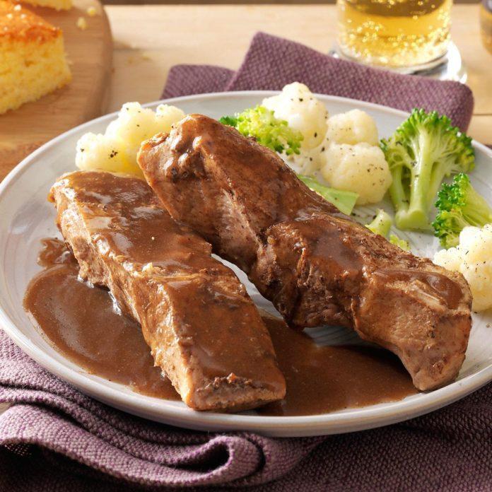 Country Kitchen Millsboro De: Ginger Country-Style Pork Ribs Recipe