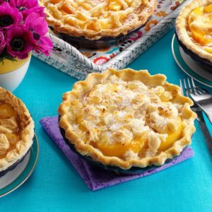 Ginger Peach Pies