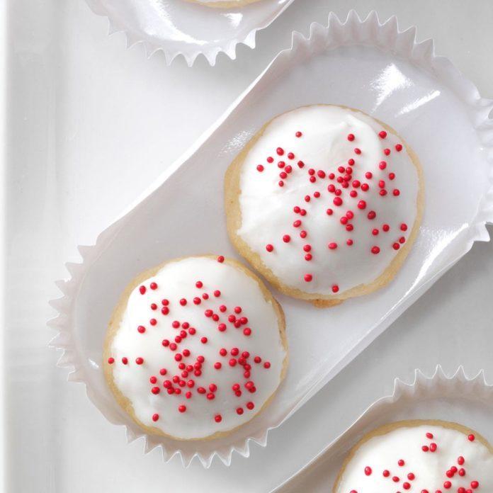 Glazed Bonbon Cookies
