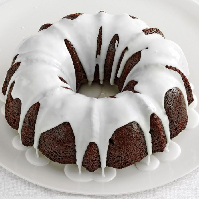 Glazed Gingerbread Cake