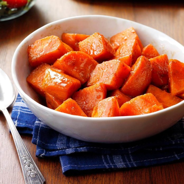 Maryland: Glazed Sweet Potatoes