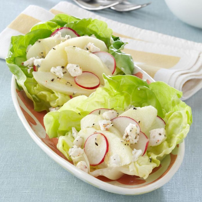 Goat Cheese Lettuce Cups