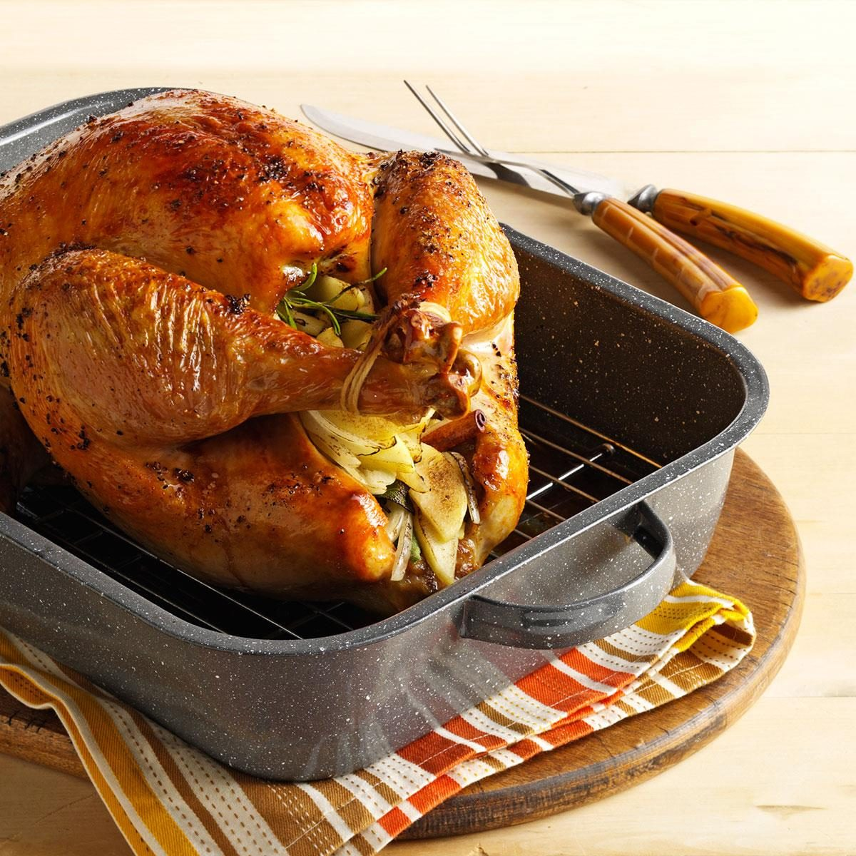 Turkey baked in oven