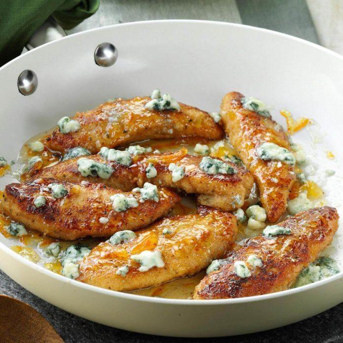 Gorgonzola & Orange Chicken Tenders