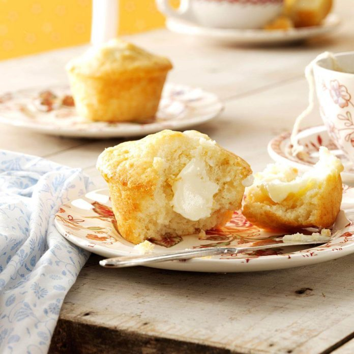 Grandma's Honey Muffins